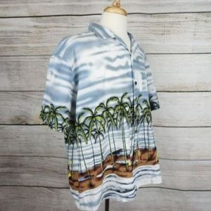 Honu Of Hawaii Shirts - Honu Of Hawaii XXL Hawaiian Shirt - 2511 G-F2